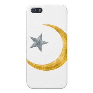 Estrella y creciente iPhone 5 funda