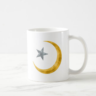 Estrella y creciente taza
