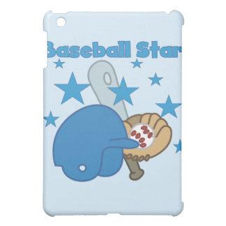 Estrella y regalos de béisbol