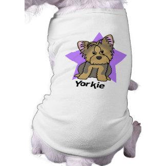 Estrella Yorkshire Terrier de Kawaii Ropa Perro