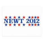 Estrellas 2012 del RB del Newt Postal