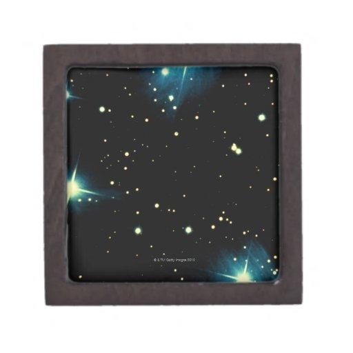 Estrellas 2 cajas de joyas de calidad