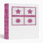 estrellas afortunadas púrpuras del Ornamental de 5