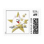 Estrellas americanas del dibujo animado del perro envio