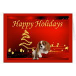 Estrellas arrogantes de la tarjeta de Navidad del