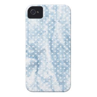 Estrellas arrugadas retras elegantes frescas del funda para iPhone 4 de Case-Mate