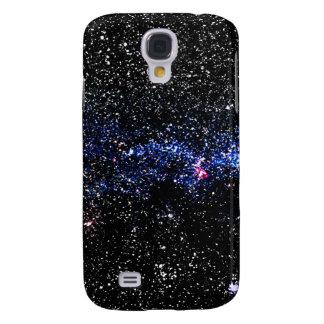 Estrellas azules carcasa para galaxy s4
