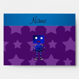 Estrellas azules conocidas personalizadas de la sobres