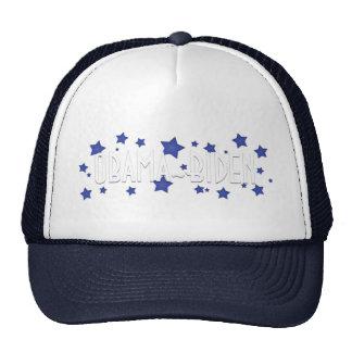 Estrellas azules de Obama Biden Gorras De Camionero
