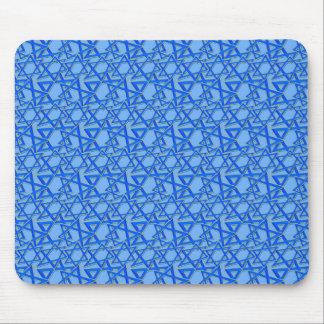 Estrellas azules mouse pad