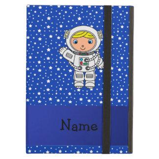 Estrellas azules personalizadas del astronauta con