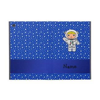 Estrellas azules personalizadas del astronauta con iPad mini cobertura
