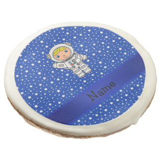 Estrellas azules personalizadas del astronauta