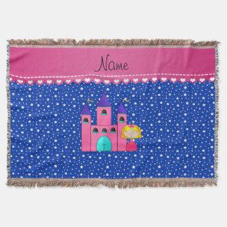 Estrellas azules personalizadas del castillo manta