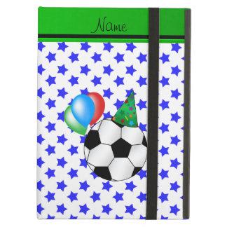 Estrellas azules personalizadas del fútbol