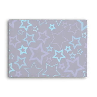 Estrellas azules sobres