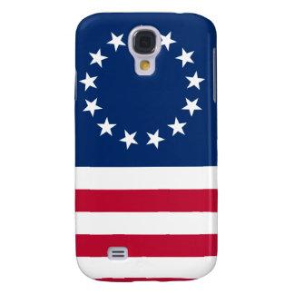 estrellas betsy de la bandera de los E.E.U.U. Funda Para Galaxy S4