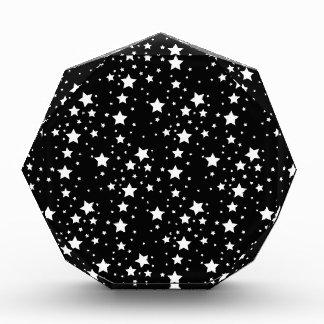 Estrellas blancos y negros