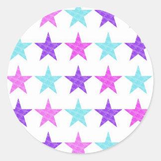 Estrellas bonitas pegatinas