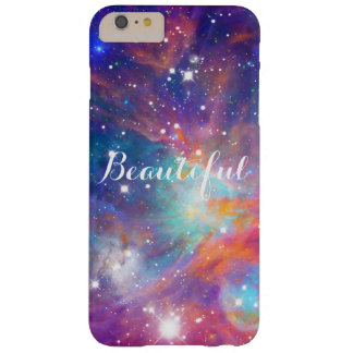Estrellas brillantes de la nebulosa impresionante funda de iPhone 6 plus barely there