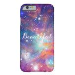 Estrellas brillantes de la nebulosa impresionante funda de iPhone 6 barely there