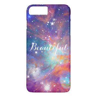 Estrellas brillantes de la nebulosa impresionante funda iPhone 7 plus