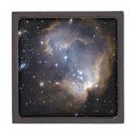 Estrellas brillantes de NGC 602 Cajas De Regalo De Calidad