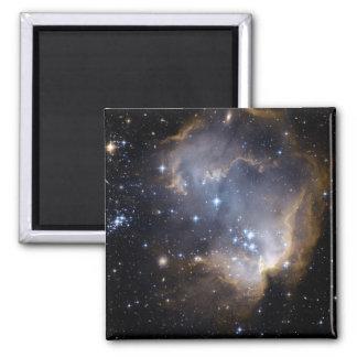Estrellas brillantes de NGC 602 en la vía láctea Imán Para Frigorífico