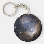 Estrellas brillantes de NGC 602 en la vía láctea Llaveros Personalizados