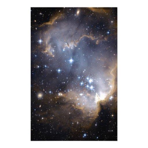 Estrellas brillantes de NGC 602 Papelería