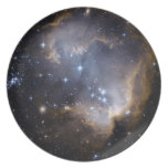 Estrellas brillantes de NGC 602 Plato De Comida