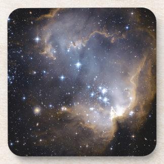 Estrellas brillantes de NGC 602 Posavaso