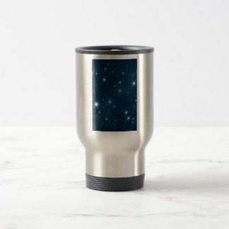Estrellas brillantes tazas de café