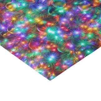 Estrellas chispeantes del navidad de lujo papel de seda pequeño