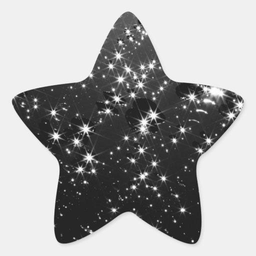 Estrellas Colcomanias Forma De Estrellaes