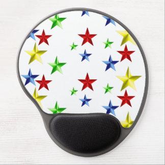 Estrellas coloridas alfombrilla gel