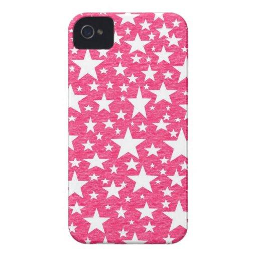 Estrellas con el caso del iPhone del fondo de las Funda Para iPhone 4