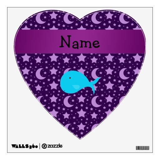 Estrellas conocidas personalizadas de la púrpura d