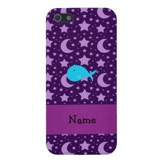 Estrellas conocidas personalizadas de la púrpura d iPhone 5 carcasa