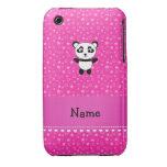 Estrellas conocidas personalizadas del rosa de la  iPhone 3 Case-Mate carcasas