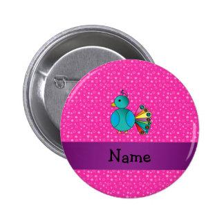 Estrellas conocidas personalizadas del rosa del pa pins