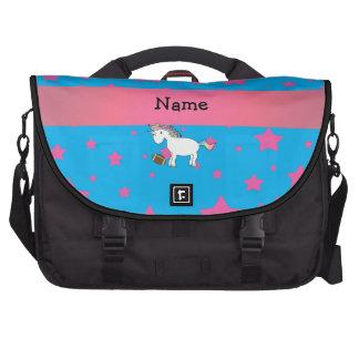 Estrellas conocidas personalizadas del unicornio d bolsas para portatil