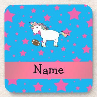 Estrellas conocidas personalizadas del unicornio d posavasos