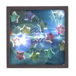 Estrellas cristalinas caja de recuerdo de calidad