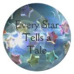 Estrellas cristalinas plato