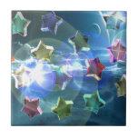 Estrellas cristalinas tejas  cerámicas