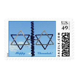 Estrellas de Chanukah del sello medio de David