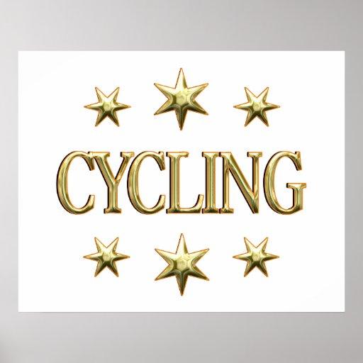 Estrellas de ciclo posters