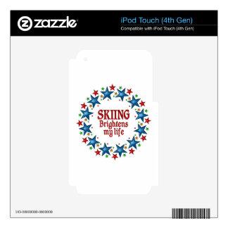 Estrellas de esquí iPod touch 4G skin
