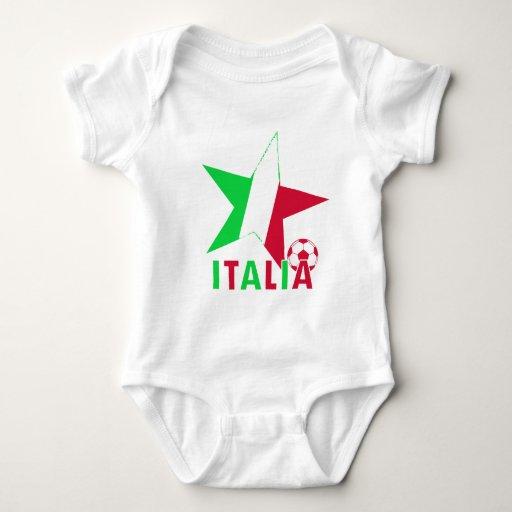 Estrellas de fútbol de Italia Italia Playeras